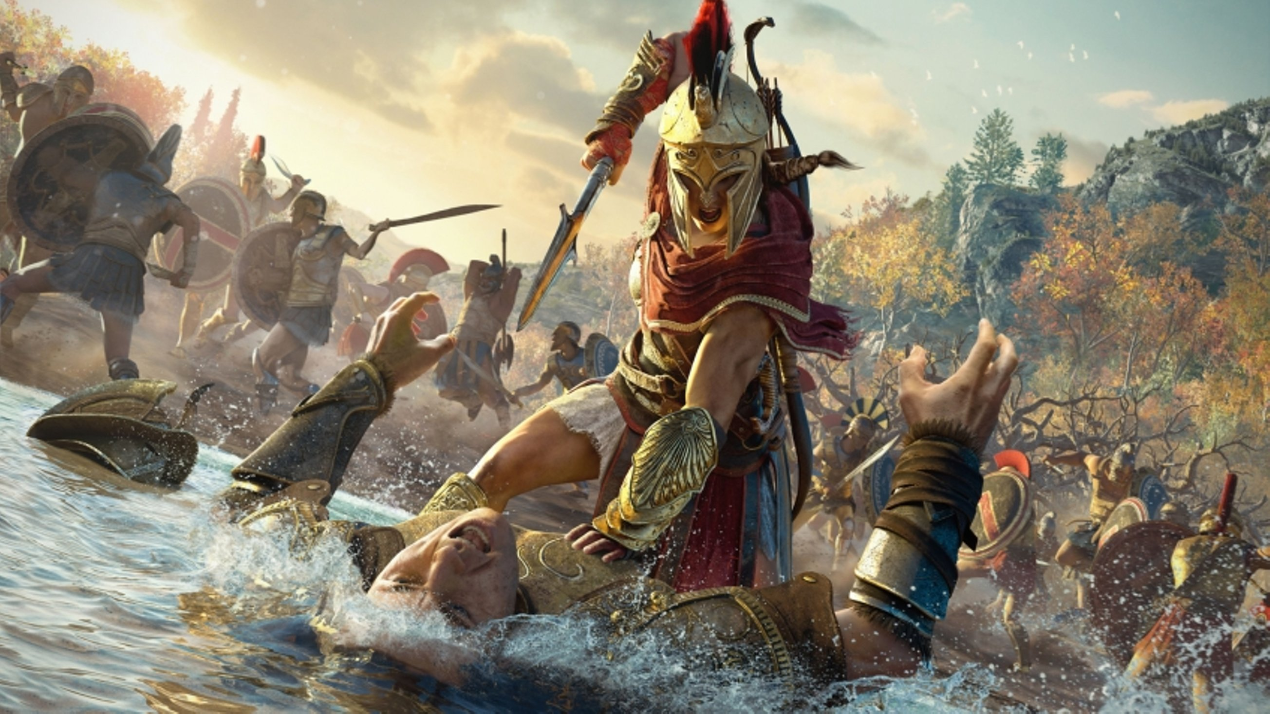 Assassin's Creed: Odyssey ушла