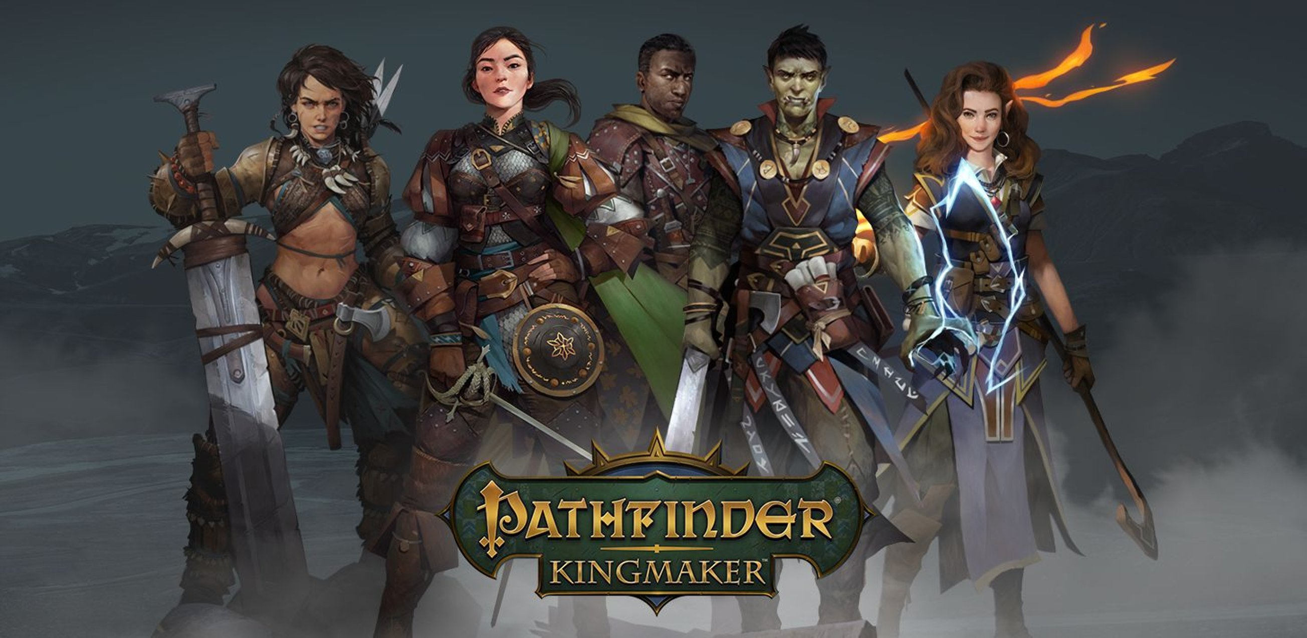 Новый ролик RPG Pathfinder: Kingmaker