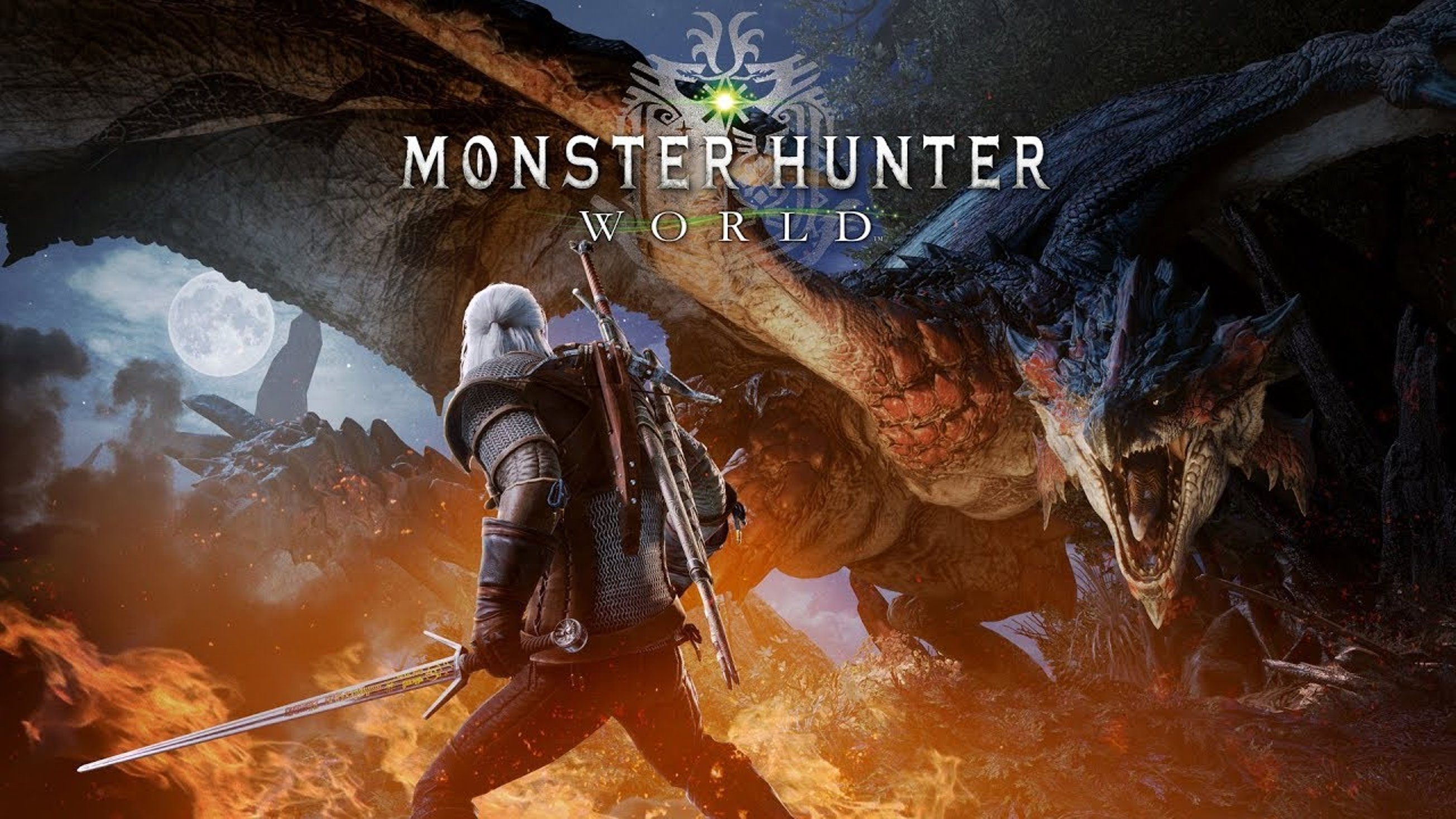 Раскрыта дата коллаба Monster Hunter X The Witcher 3 на ПК