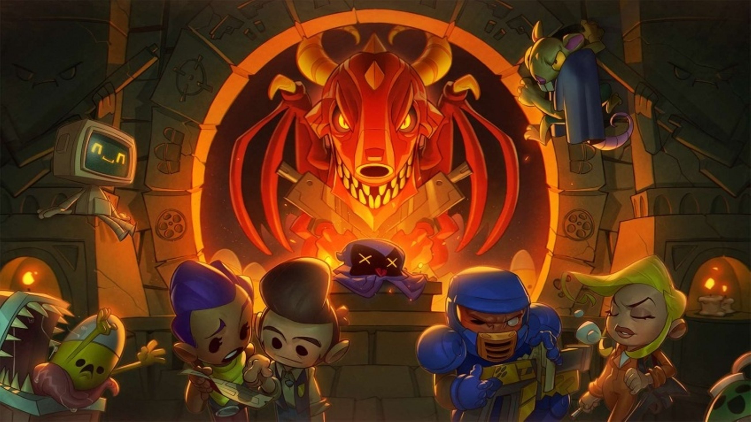 В Epic Games Store начали раздавать Enter the Gungeon