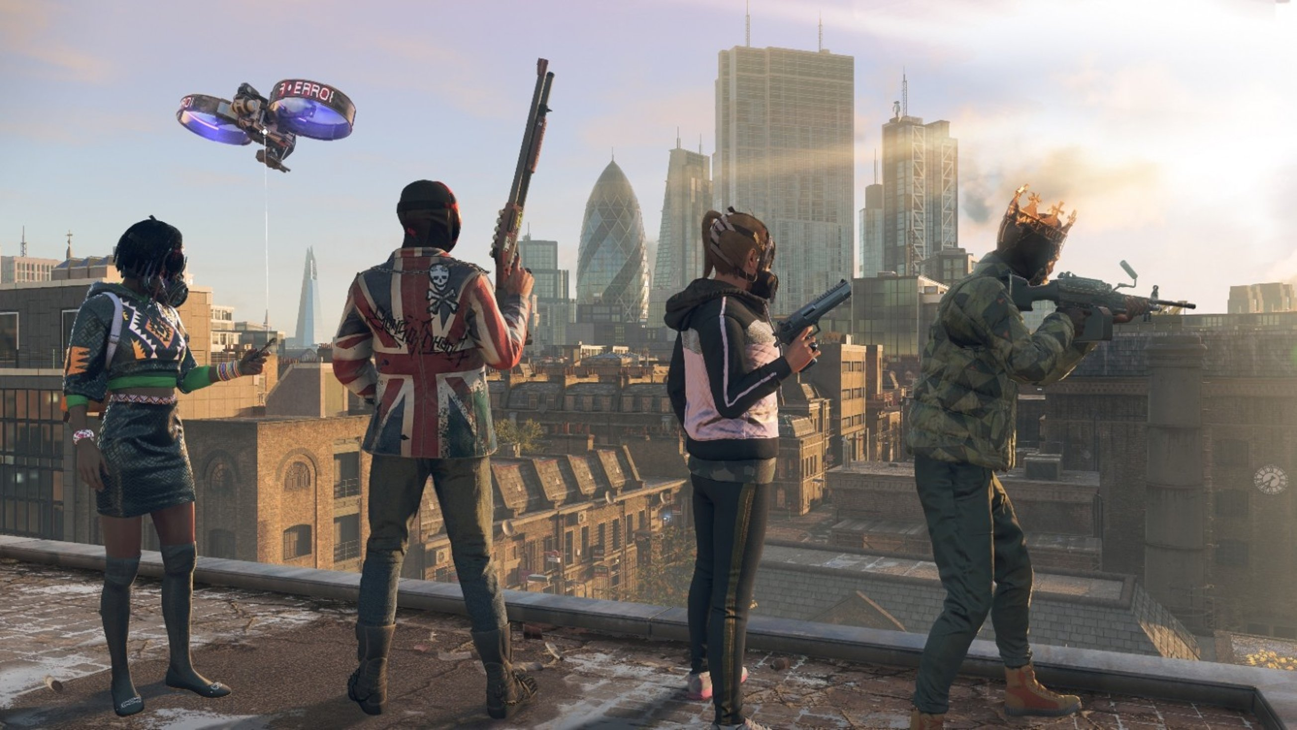 В Watch Dogs Legion Шотландия обрела независимость
